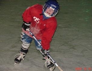 Начало хоккейной карьеры 2007 год